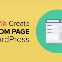[WORDPRESS] Tạo Custom Page Template