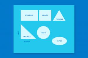 CSS Hình tam giác và tất cả các hình khối khác